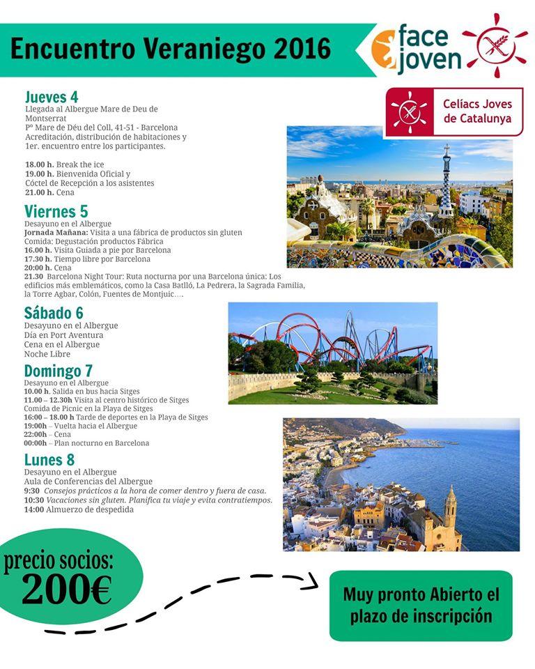 Programa Campamento Barcelona